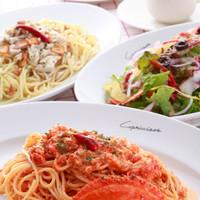 カプリチョーザ JR岡山駅店 - 渡り蟹のトマトクリームスパゲティ