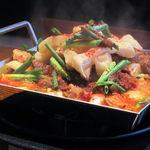 はるばん - チリトリ鍋焼き