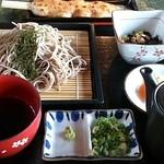 面ノ木茶屋 ささき - 「ささき定食」(1000円)