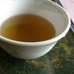 面ノ木茶屋 ささき - セルフの冷たい麦茶