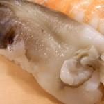 小柳寿司 - トリ貝♪ でかくて分厚い☆