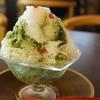 喫茶去 - 料理写真:かき氷(抹茶・600円)