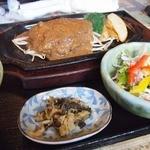 秀屋 - ハンバーグ150g定食1200円