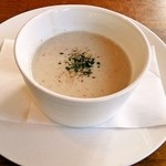 アネラキッチン - 椎茸とお米のスープ