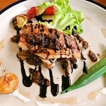 アネラキッチン - お魚、特製 バルサミコ&ガーリックソース