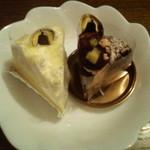 ドレモルタオ - ドゥーブルフロマージュ367円&ビターショコラ 315円 2013/08