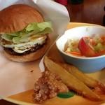 8cafe hamburger - てりたまバーガー