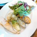 Pittsuriakarore - 前菜の盛り合わせ