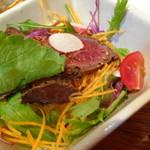 和牛焼肉 布上 - タタキサラダ