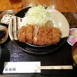 富金豚 - バラカツ定食