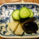 日本料理さとう - お漬物