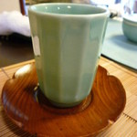 日本料理さとう - 温かいお茶