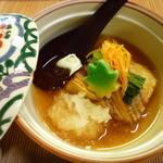 日本料理さとう - 茄子の揚げ浸し