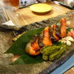 日本料理さとう - 鮭の焼き魚