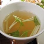 CHINESE DINING 凍頂山 - 日替わりランチのスープ