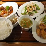 CHINESE DINING 凍頂山 - 日替わりランチ(全3品選択)