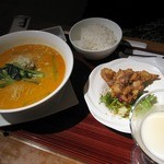CHINESE DINING 凍頂山 - 四川担々麺ランチ(1000円)