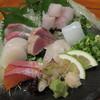 隠れ家Dinning 味杜 - 料理写真:刺盛二人前 1800円、醤油と練り梅で