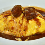 ガスト - 料理写真:オムライスビーフシチューソース
