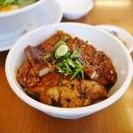 大阪ふくちぁんラーメン - セットのミニ丼