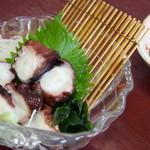 お食事処 さかゑや - タコぶつ切り525円