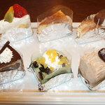 ハンプティ・ダンプティ - ショートケーキ各種