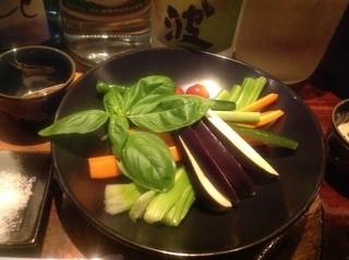 サンダーボルト - 野菜スティック