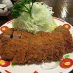かつ徳 - 料理写真:徳大ヒレ勝つ!