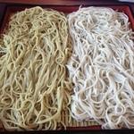 はらぺこ - 料理写真:二色そば ダッタン&更科