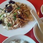 上海菜館 - 豚肉と野菜炒め