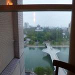 洋食屋 きし川 - 遠くに見えるのは・・・