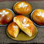 石窯パン工房 メリチェル - 料理写真:「しあわせのクリームパン」-こだわりのなめらかカスタードクリームが絶品です!