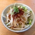 麦 kamiuma ASAHIYA - ねぎもやし(250円)
