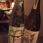 鉄板焼 ろじ - 麦焼酎 千代の富士