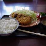 ヤマキ武居 - 料理写真:馬カツ定食~☆