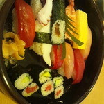 加茂寿司 - ランチ握り1.5人前
