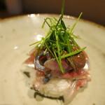 みや - 25年8月 新秋刀魚、肝和え