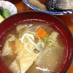 多菜田 - お味噌汁 アップ