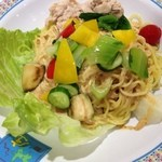 Doutomborikamukura - 夏野菜のゴマだれ冷麺