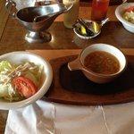 20691230 - セットのスープ&サラダ