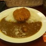 カレーショップ C&C - ビーフメンチカツカレー(490円)(辛口)