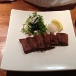 鉄板ダイニング 京四季庵 - 牛タンのやわらかステーキ