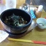 喫茶トムル - 23年当時:石焼ビビンバ