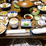 飯坂温泉 伊勢屋 - 料理写真:夕食