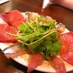 オリオリ - 今日のカルパッチョ盛り680円