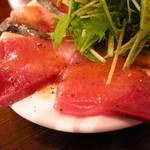 オリオリ - 今日のカルパッチョ盛り680円 ワラサ