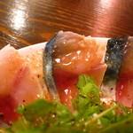 オリオリ - 今日のカルパッチョ盛り680円 サバ