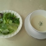 20696798 - setのスープ、サラダ