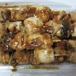 カネトミ - 料理写真:ネギマをタレで10本