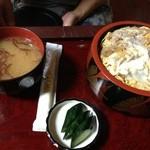 太田食堂 - カツ丼。
